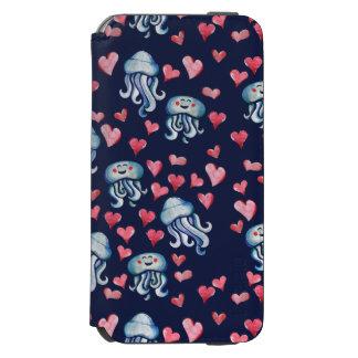 Capa Carteira Incipio Watson™ Para iPhone 6 Amor das medusa