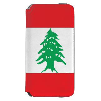 Capa Carteira Incipio Watson™ Para iPhone 6 Bandeira de Líbano