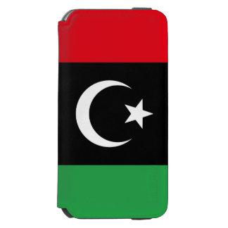Capa Carteira Incipio Watson™ Para iPhone 6 Bandeira de Líbia