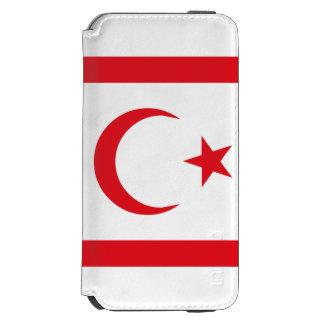 Capa Carteira Incipio Watson™ Para iPhone 6 Bandeira do norte de Chipre