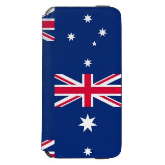 Capa Carteira Incipio Watson™ Para iPhone 6 Bandeira nacional de Austrália