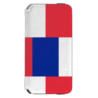 Capa Carteira Incipio Watson™ Para iPhone 6 Bandeira nacional de France