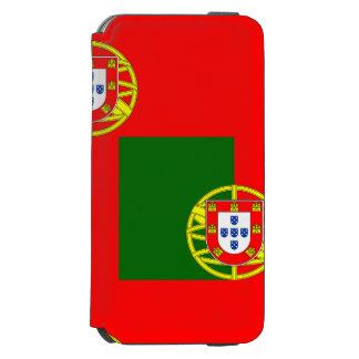 Capa Carteira Incipio Watson™ Para iPhone 6 Bandeira nacional de Portugal