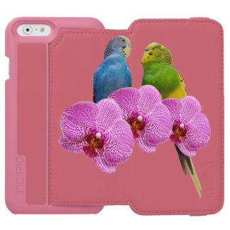 Capa Carteira Incipio Watson™ Para iPhone 6 Budgie com orquídea roxa