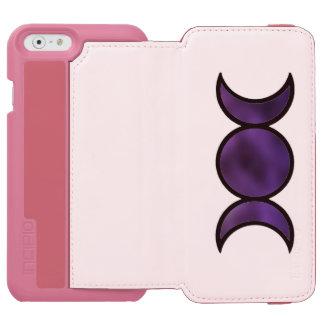 Capa Carteira Incipio Watson™ Para iPhone 6 Caixa roxa da carteira do iPhone da deusa