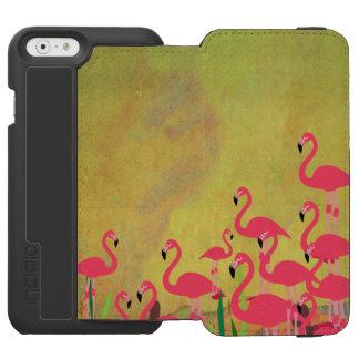 Capa Carteira Incipio Watson™ Para iPhone 6 Capa de telefone do flamingo