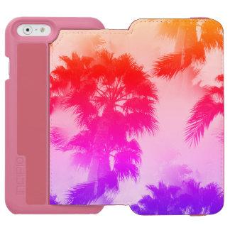 Capa Carteira Incipio Watson™ Para iPhone 6 Carteira do telefone das palmeiras