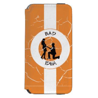 Capa Carteira Incipio Watson™ Para iPhone 6 Casamento, funcionamento longe deste!
