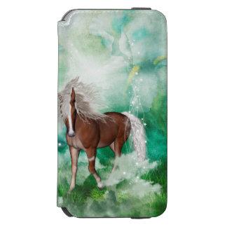 Capa Carteira Incipio Watson™ Para iPhone 6 Cavalo bonito no país das maravilhas