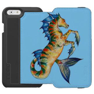 Capa Carteira Incipio Watson™ Para iPhone 6 Cavalo marinho no azul