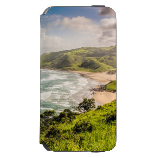 Capa Carteira Incipio Watson™ Para iPhone 6 Cena selvagem da praia da costa