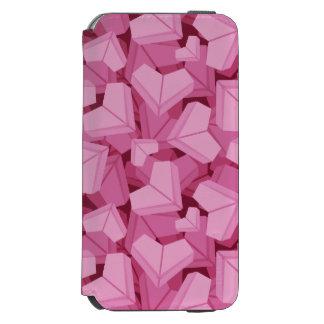 Capa Carteira Incipio Watson™ Para iPhone 6 Coração