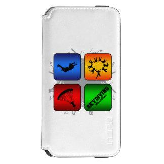 Capa Carteira Incipio Watson™ Para iPhone 6 Estilo urbano de surpresa de Skydiving