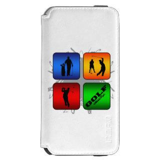 Capa Carteira Incipio Watson™ Para iPhone 6 Estilo urbano do golfe surpreendente
