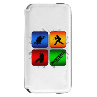 Capa Carteira Incipio Watson™ Para iPhone 6 Estilo urbano do Paintball surpreendente