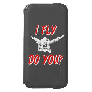 Capa Carteira Incipio Watson™ Para iPhone 6 Eu vôo, faz você? (branco)