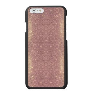 Capa Carteira Incipio Watson™ Para iPhone 6 Faísca cor-de-rosa do espaço do falso da galáxia