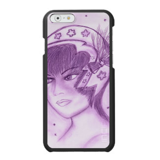 Capa Carteira Incipio Watson™ Para iPhone 6 Flapper estrelado - roxo