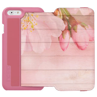 Capa Carteira Incipio Watson™ Para iPhone 6 Flor de cerejeira