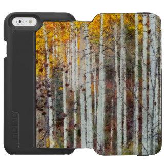 Capa Carteira Incipio Watson™ Para iPhone 6 Floresta enevoada do vidoeiro