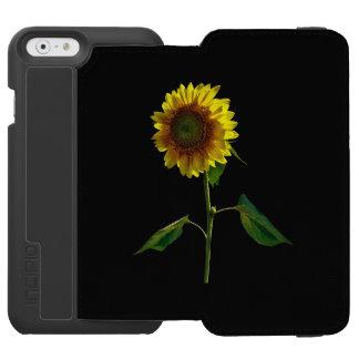 Capa Carteira Incipio Watson™ Para iPhone 6 Girassol que está alto