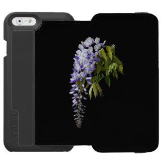 Capa Carteira Incipio Watson™ Para iPhone 6 Glicínias e folhas