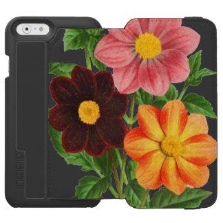Capa Carteira Incipio Watson™ Para iPhone 6 Grupo das dálias