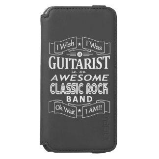 Capa Carteira Incipio Watson™ Para iPhone 6 Grupo de rock clássico impressionante do