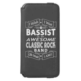 Capa Carteira Incipio Watson™ Para iPhone 6 Grupo de rock clássico impressionante do BAIXISTA