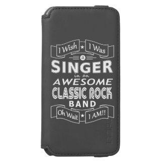 Capa Carteira Incipio Watson™ Para iPhone 6 Grupo de rock clássico impressionante do CANTOR