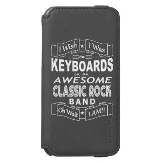 Capa Carteira Incipio Watson™ Para iPhone 6 Grupo de rock clássico impressionante dos TECLADOS