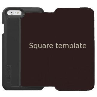 Capa Carteira Incipio Watson™ Para iPhone 6 iPhone 6/6s Wallet Case template