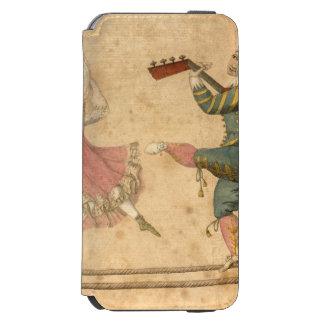 Capa Carteira Incipio Watson™ Para iPhone 6 Jovens que dançam e que cantam, desenho do vintage