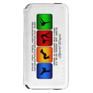 Capa Carteira Incipio Watson™ Para iPhone 6 Karaté legal é um modo de vida
