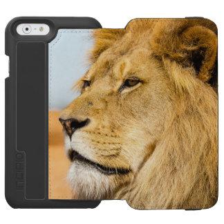 Capa Carteira Incipio Watson™ Para iPhone 6 Leão grande que olha longe
