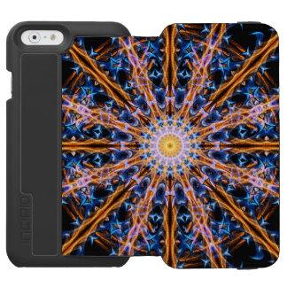 Capa Carteira Incipio Watson™ Para iPhone 6 Mandala da estrela da alquimia