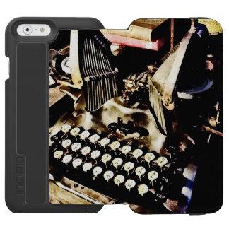 Capa Carteira Incipio Watson™ Para iPhone 6 Máquina de escrever antiga Oliver #9