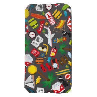 Capa Carteira Incipio Watson™ Para iPhone 6 Mar sul do viagem das férias de verão do teste