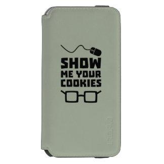 Capa Carteira Incipio Watson™ Para iPhone 6 Mostre-me seu geek Zb975 dos biscoitos