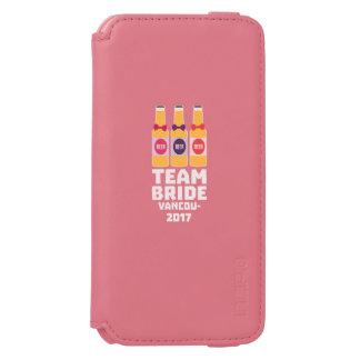 Capa Carteira Incipio Watson™ Para iPhone 6 Noiva Vancôver da equipe 2017 Z13n1