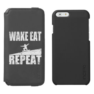 Capa Carteira Incipio Watson™ Para iPhone 6 O acordar come a repetição #2 do Snowboard