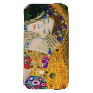 Capa Carteira Incipio Watson™ Para iPhone 6 O beijo por Gustavo Klimt