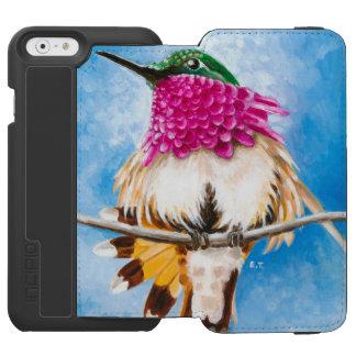 Capa Carteira Incipio Watson™ Para iPhone 6 O colibri da costela
