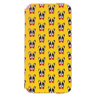 Capa Carteira Incipio Watson™ Para iPhone 6 O escuteiro bonito de Frenchie está pronto para