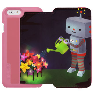 Capa Carteira Incipio Watson™ Para iPhone 6 O jardim do robô