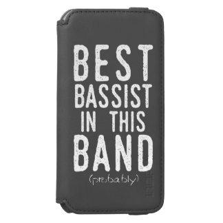 Capa Carteira Incipio Watson™ Para iPhone 6 O melhor baixista (provavelmente) (branco)