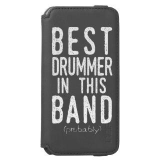 Capa Carteira Incipio Watson™ Para iPhone 6 O melhor baterista (provavelmente) (branco)