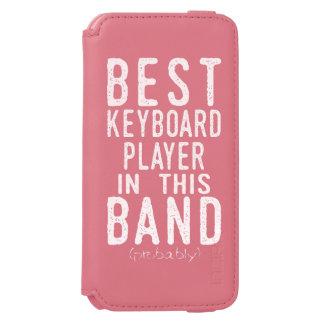Capa Carteira Incipio Watson™ Para iPhone 6 O melhor jogador de teclado (provavelmente)