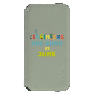 Capa Carteira Incipio Watson™ Para iPhone 6 Os engenheiros são em junho Zo3k7 nascidos
