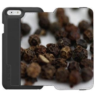 Capa Carteira Incipio Watson™ Para iPhone 6 Pimenta preta